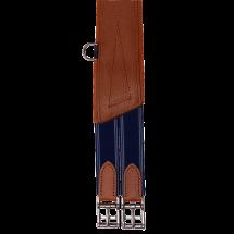 Sangle bavette Bruno Delgrange en cuir pleine fleur
