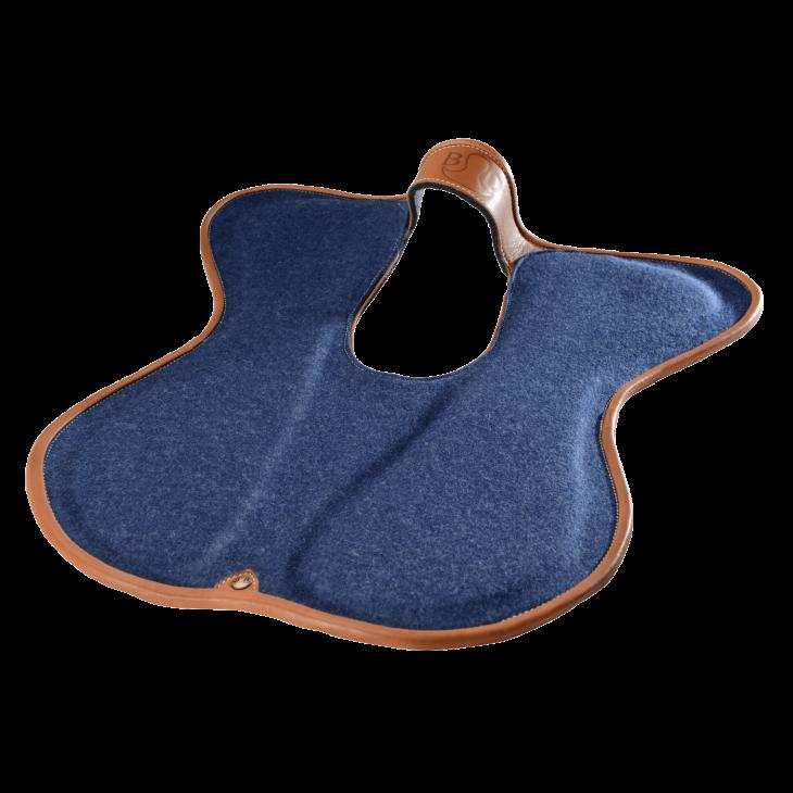 Shock absorbing saddle pad - Bruno Delgrange